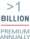 >1 Billion Premium Annually